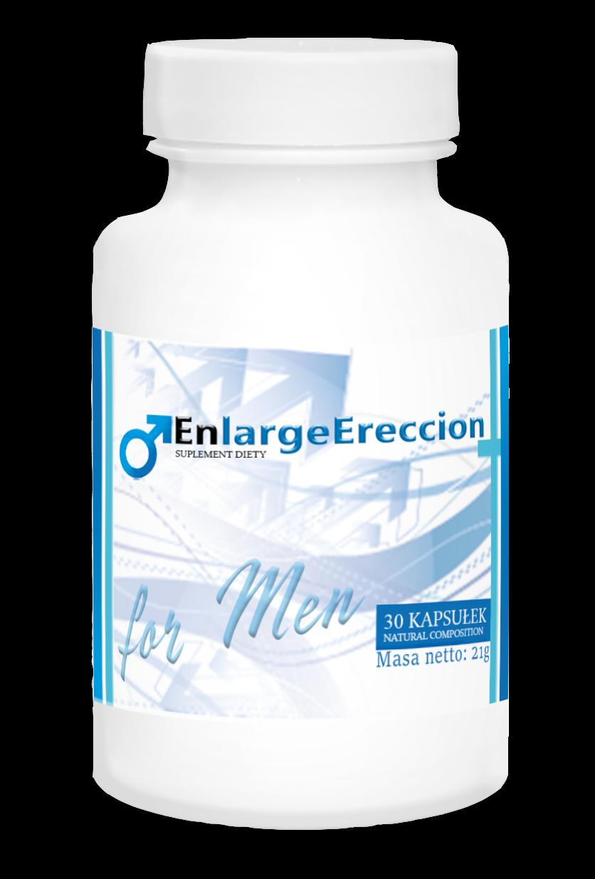 Enlarge Ereccion (Энлардж Эрекшн)- капсулы для эрекции
