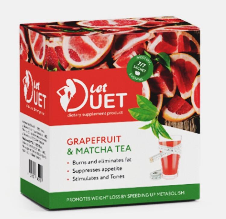 Let Duet (Лэт Дуэт) - растворимый напиток для похудения