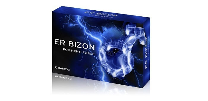 ErBizon (ЭрБизон)- капсулы для потенции