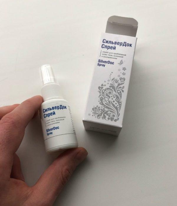 SilverDoc (СилверДок) - спрей от псориаза