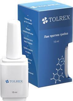 Tolrex (Толрекс) - лак для ногтей с противогрибковым эффектом. Фирменный магазин. Цена производителя.