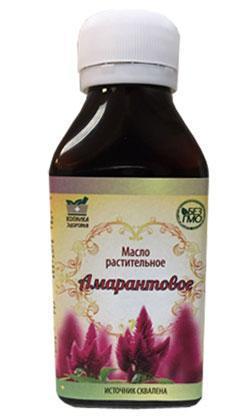Амарантовое масло - для эффективной борьбы с гипертонией