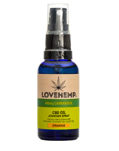 Love Hemp CBD Oil Spray Orange