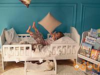 Кровать детская Babystep Классика Белая