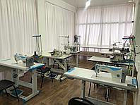 Швейный цех с закроечным залом.