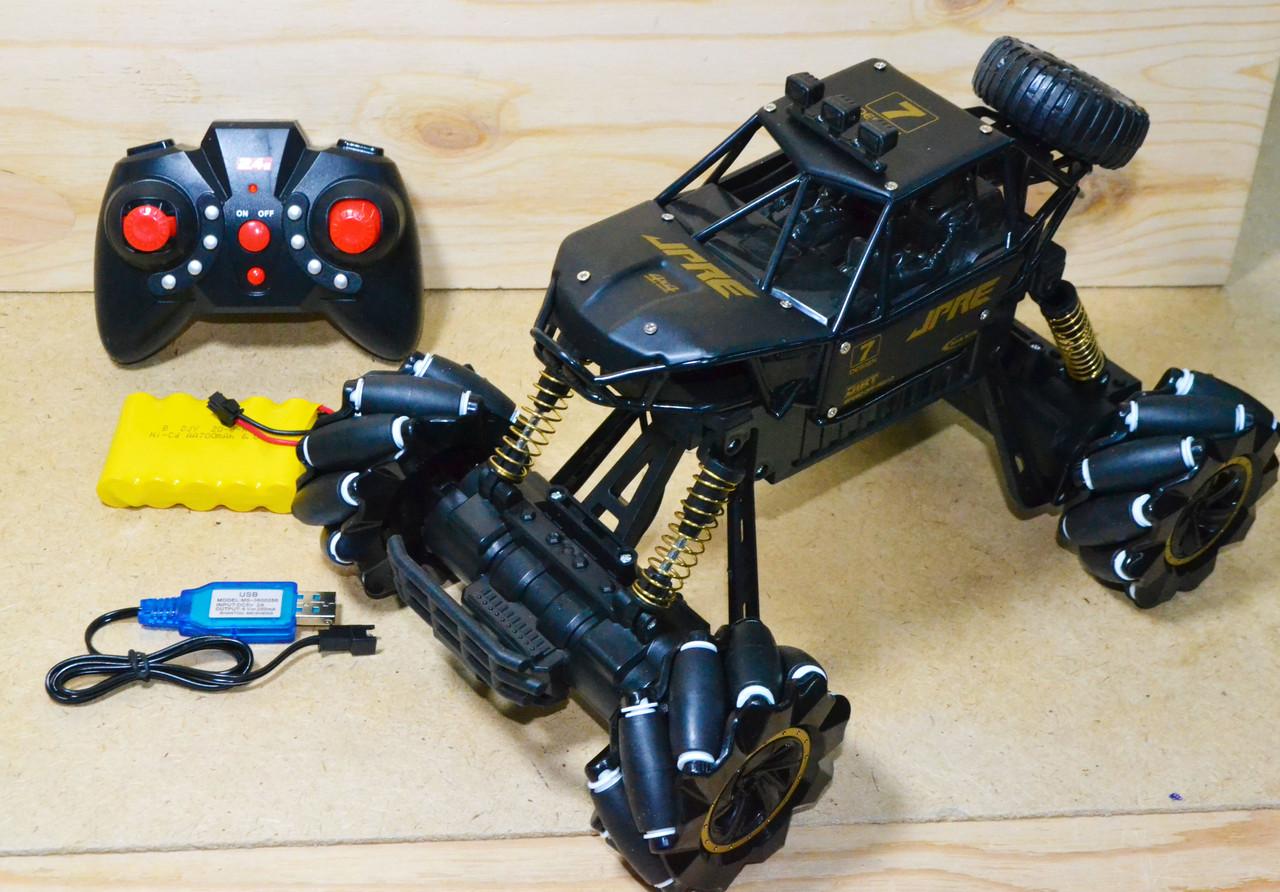 2021 Drift Rock crawler внедорожник с боковым движением на р/у 4 функции 36*23см