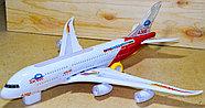 8630 Airbus А380 Самолет 43*10см, фото 3