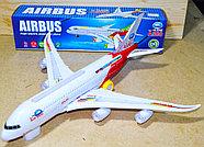 8630 Airbus А380 Самолет 43*10см, фото 2