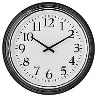 BRAVUR БРАВУР Настенные часы, черный, LR6 AA 1,5В