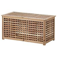 HOL ХОЛ Стол-сундук, акация, 98x50 см