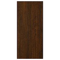 EDSERUM ЭДСЕРУМ Накладная панель, под дерево коричневый, 39x86 см