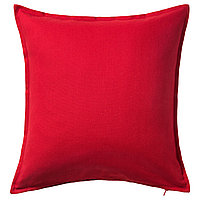 GURLI ГУРЛИ Чехол на подушку, красный, 50x50 см