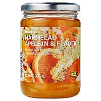 MARMELAD APELSIN & FLÄDER Джем из апельсина и цветов бузины, .,