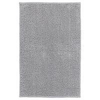TOFTBO ТОФТБУ Коврик для ванной, серо-белый меланж, 50x80 см