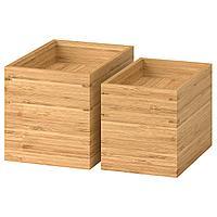 DRAGAN ДРАГАН Набор для ванной, 4 предмета, бамбук,