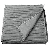 VEKETÅG ВЕКЕТОГ Покрывало, серый, 180x250 см