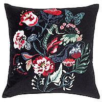 SARALENA САРАЛЕНА Подушка, черный/разноцветный, 50x50 см