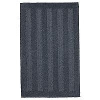 EMTEN ЭМТЕН Коврик для ванной, темно-серый, 50x80 см