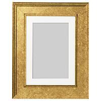 VIRSERUM ВИРСЕРУМ Рама, золотой, 13x18 см