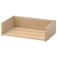 BESTÅ БЕСТО Каркас ящика, под беленый дуб, 60x15x40 см