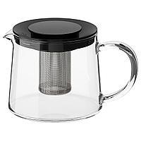 RIKLIG РИКЛИГ Чайник заварочный, стекло, 0.6 л