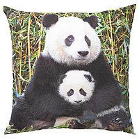 URSKOG УРСКОГ Подушка, Панда разноцветный, 50x50 см