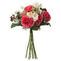SMYCKA СМИККА Искусственный букет, темно-розовый, 50 см