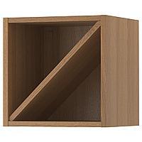 VADHOLMA ВАДХОЛЬМА Шкаф для вина, коричневый/мореный ясень, 40x37x40 см