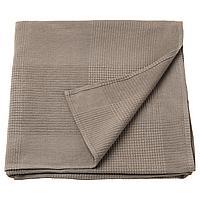 INDIRA ИНДИРА Покрывало, светло-коричневый, 230x250 см
