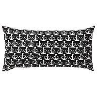 MATTRAM МАТТРАМ Подушка, белый/черный, 30x60 см