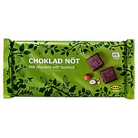CHOKLAD NÖT Шоколад с орехами, Сертификат UTZ,