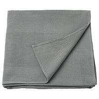 INDIRA ИНДИРА Покрывало, серый, 150x250 см