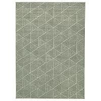 STENLILLE СТЕНЛИЛЛЕ Ковер, короткий ворс, зеленый, 170x240 см