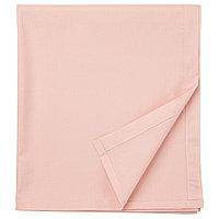 DVALA ДВАЛА Простыня, светло-розовый, 240x260 см