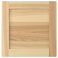 TORHAMN ТОРХЭМН Дверь, естественный ясень, 40x40 см