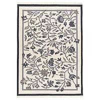 ALVINE АЛЬВИНЕ Ковер безворсовый, ручная работа серый, 170x240 см