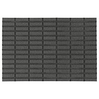 SIVESTED СИВЕСТЕД Придверный коврик, темно-серый, 40x60 см