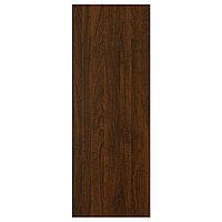 EDSERUM ЭДСЕРУМ Накладная панель, под дерево коричневый, 39x106 см