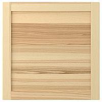 TORHAMN ТОРХЭМН Дверь, естественный ясень, 60x60 см