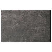 KALLVIKEN КЭЛЛЬВИКЕН Дверь/фронтальная панель ящика, темно-серый под бетон, 60x38 см