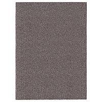 ALLERSLEV АЛЛЕРСЛЕВ Ковер, длинный ворс, коричневый, 133x180 см