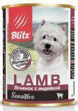 BLITZ LAMB 400г (Ягненок с индейкой) – влажный корм для собак