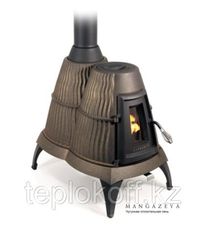Печь отопительно-варочная чугунная ТМФ Мангазея