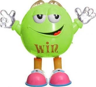 Игрушка музыкальная «Танцующая конфета M&M's» Qbean Dance (Зеленый)