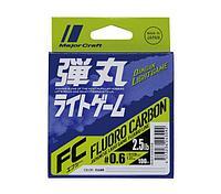 Леска флюорокарбоновая Major Craft Fluorocarbon Dangan Light Game (DLG-F 0.4/1.5lb=0.4, 0.104mm, 100m, 1.5lb)