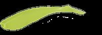 Приманка съедобная ALLVEGA Tail Shaker (VD-594=10см 6,5г (7шт.) цвет salad green silver flake)