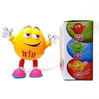 Игрушка музыкальная «Танцующая конфета M&M's» Qbean Dance (Желтый)