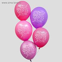 """Воздушные шары «С Днем Рождения», Феи, 5 шт., 12"""""""