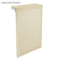 "Экран на чугунный радиатор ""Лидер"", 290х610х150 мм, 3 секции, металлический, бежевый"