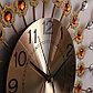 """Часы настенные, серия: Интерьер, """"Песочные ромашки"""", янтарные кристаллы, d=58 см, фото 3"""